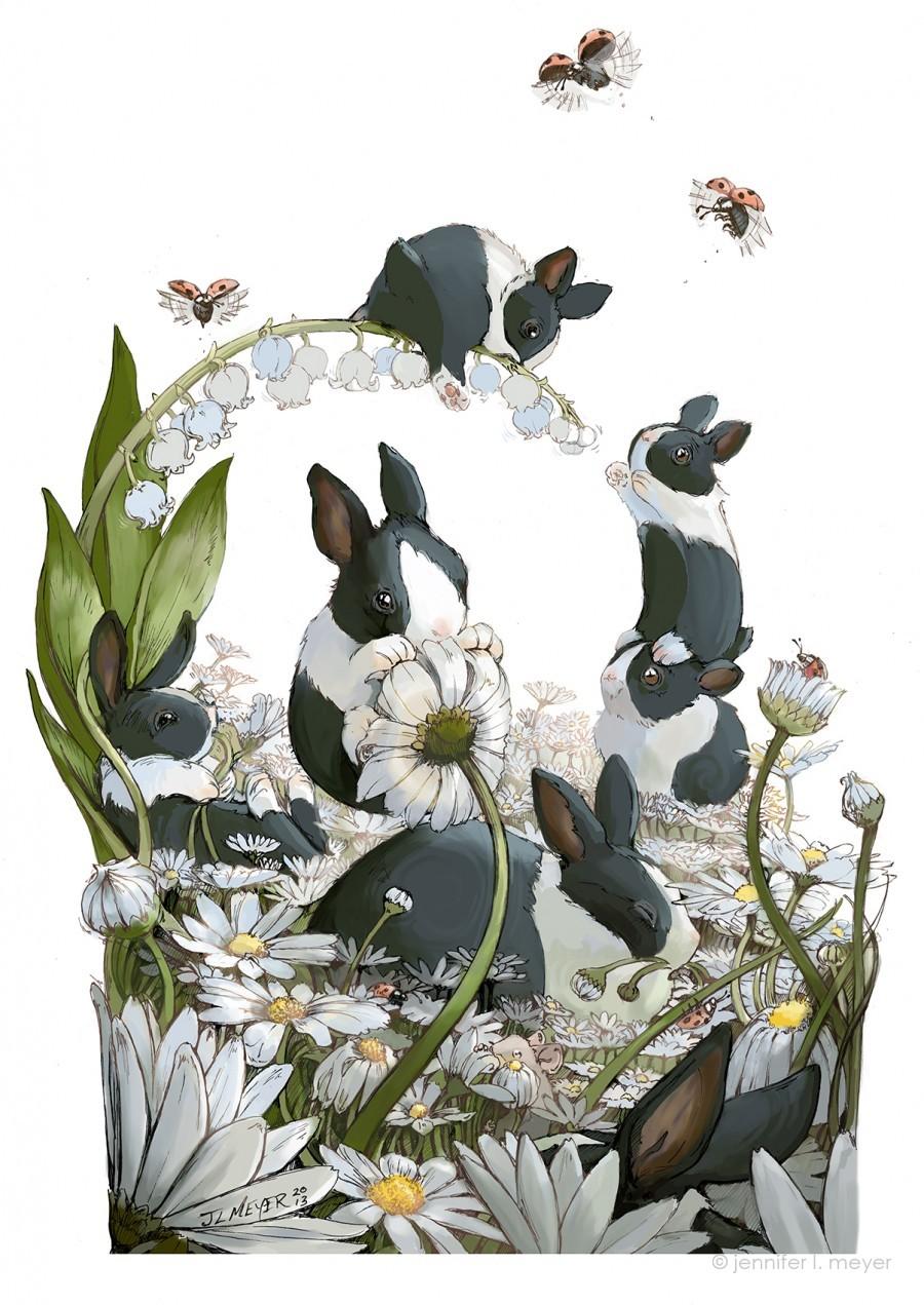 Jennifer L Meyer Children S Book Illustrator Traditional Illustrator Animal Illustrations