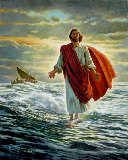 Jesus Walks On Water Wallpaper Savior Jesus Christ | ...