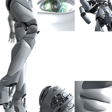 Peter Bollinger is an award winning illustrator, book illustrator, commercial artist, and digital artist who creates 3D illustrations of robots