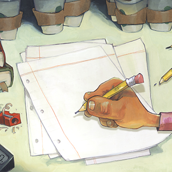 Illustration by GLIN DIBLEY