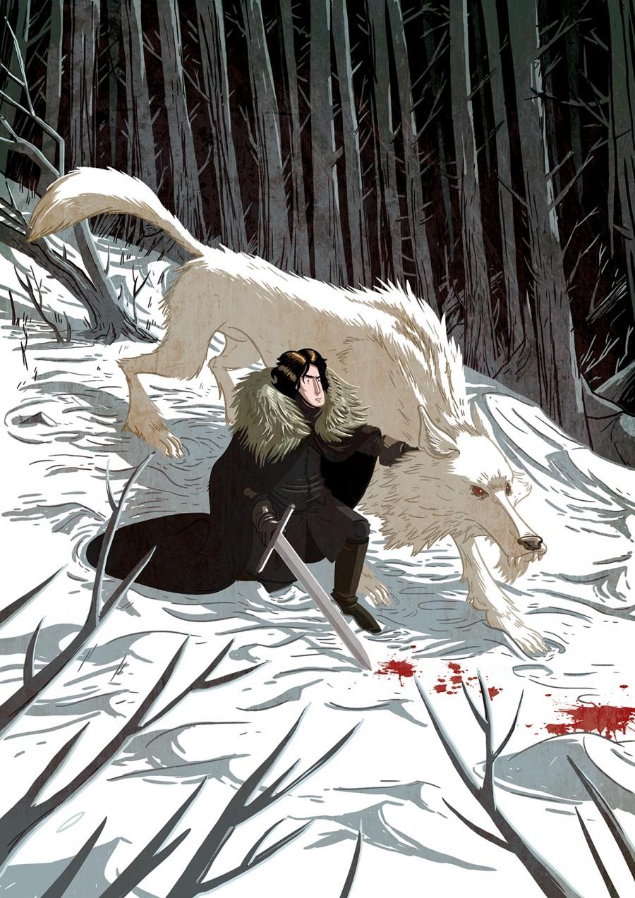 doug holgate illustrator graphic novel artist childrens