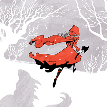 Craig Phillips is an illustrator who specializes in Cover and Book Illustrations, Advertisements, Graphic Novels, Poster Art, Editorial Illustration, promotions, and this red riding hood
