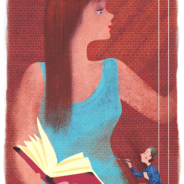 Illustration by CLAUDE YVES